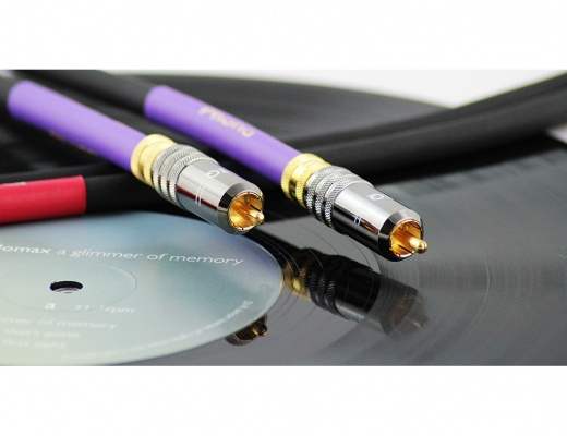 Tellurium Q Black Turntable RCA Phono Cable