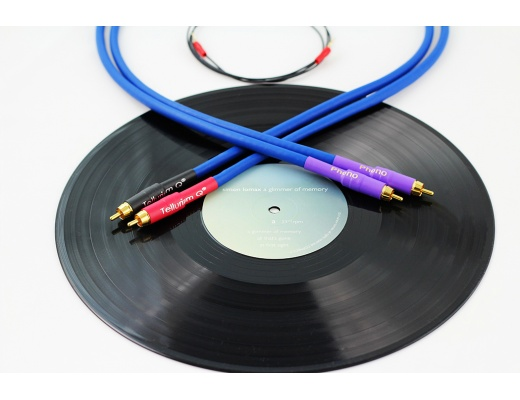 Tellurium Q Blue Turntable RCA Phono Cable