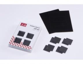 """fo.Q"" CP-01 Carbon Spacer Feet (Set of 8)"