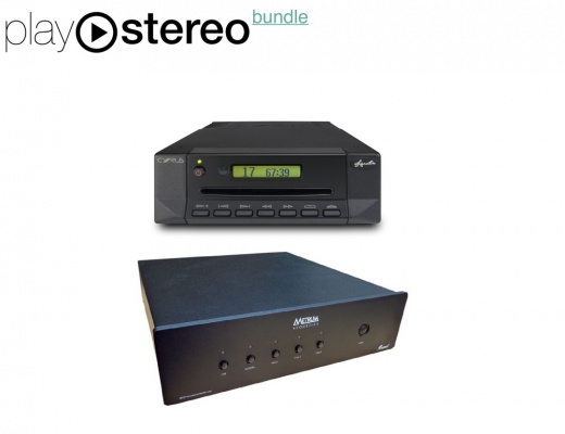 CD reading system - Cyrus Audio CD Xt + Metrum ONYX DAC