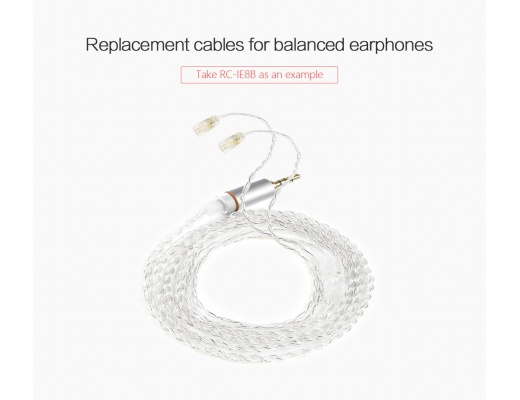 FiiO RC-ATHB Re-Cable for Balanced Audio-Technica Earphones