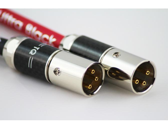Tellurium Q Ultra Black XLR Balanced Interconnects