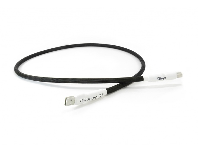 Tellurium Q Silver USB - Cavo speciale USB