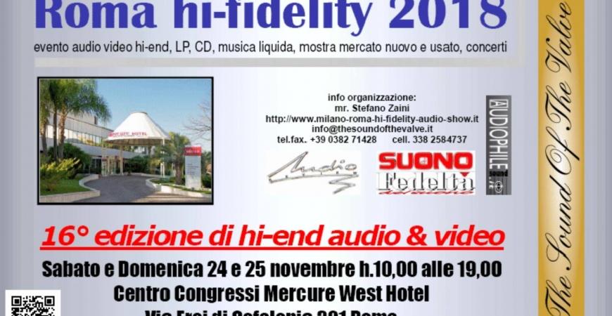 Roma hi fidelity 2018