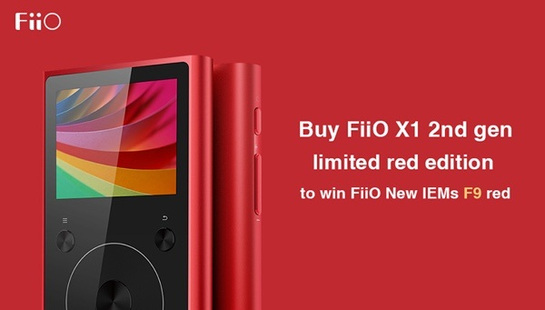 FiiO X1 Limited Red Edition