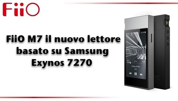 FiiO M7 Lettore Audio Digitale Bluetooth + USB
